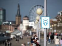 Coronavirus in Deutschland: Nicht stehenbleiben, nicht hinsetzen: NRW-Städte führen strenge Maßnahmen ein