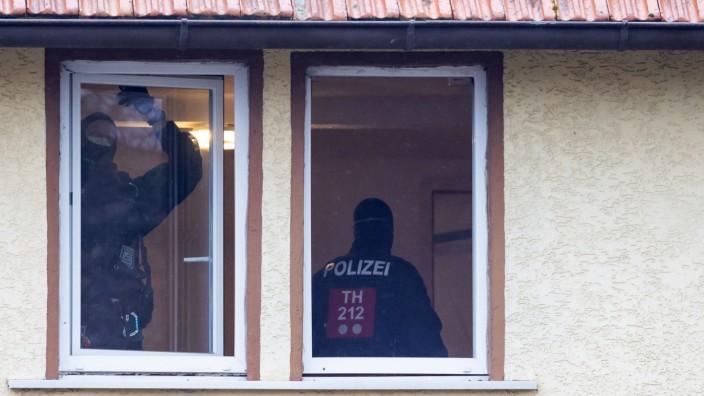 Razzia gegen Neonazi-Netzwerk - Thüringen