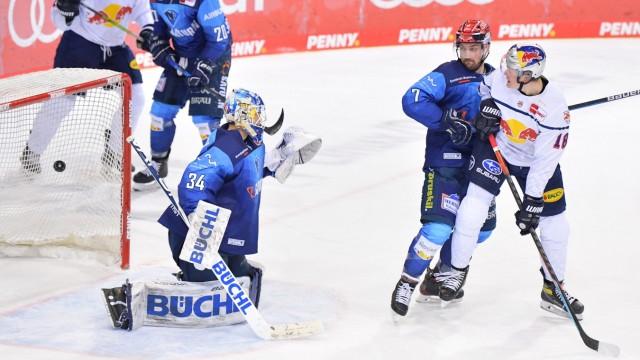 Eishockey, Herren, DEL, Saison 2020-2021, ERC Ingolstadt - EHC Red Bull München, 25.02.2021 Tor zum 0:1 durch Yannic Se