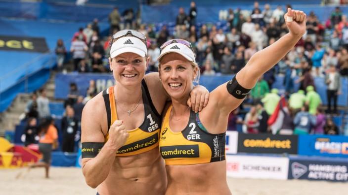FIVB Beach volleyball Beachvolleyball World Championships Hamburg 2019 01 07 2019 Julia Sude GER; Karla Borger