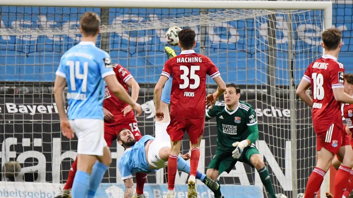 3. Liga: 1860 München gewinnt das Derby gegen Unterhaching