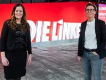Linke Parteivorsitzende Wissler Hennig-Wesslow