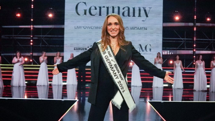 Miss Germany 2021 Contest In Rust