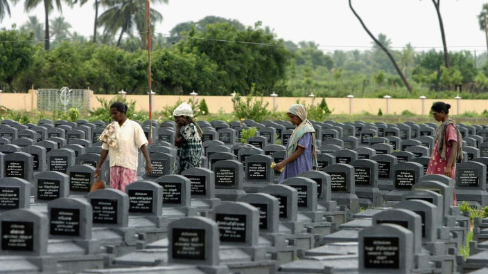 Cemeteries And Amputees Show The Human Cost Of Sri Lankan Civil War