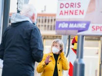 Landtags-Wahlkampf auf Abstand