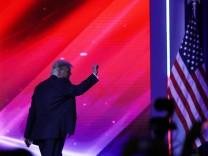 Florida: Rede von Donald Trump in Orlando im Februar 2021