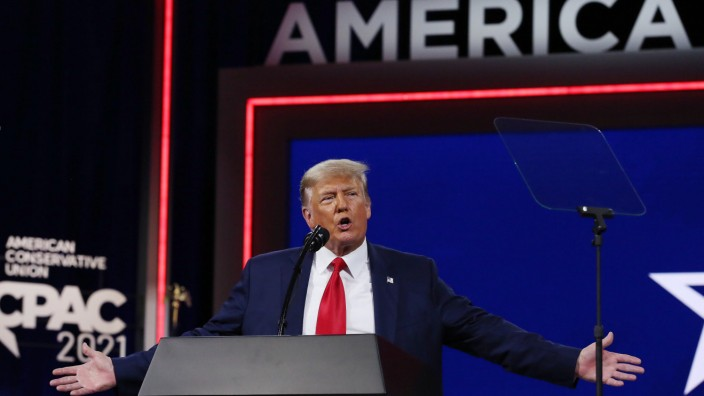 Ehemaliger US-Präsident Trump