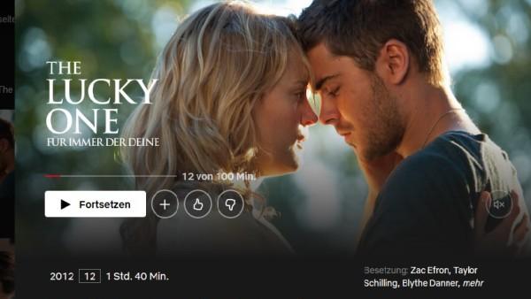 Screenshot der Netflix-Mediathek für eine Geschichte über die skurrilen Inhaltsangaben von Filmen bei Netflix. © Netflix.