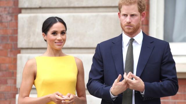 Prinz Harry und Frau Meghan