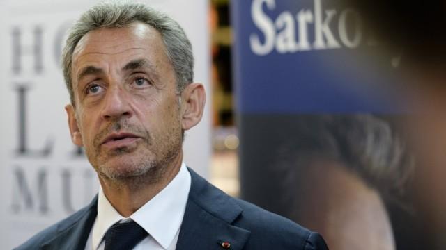 Dedication session by Nicolas Sarkozy in Brussels, Belgium (2020/09/03) Brussels, Belgium, on September 3, 2020: Nicolas