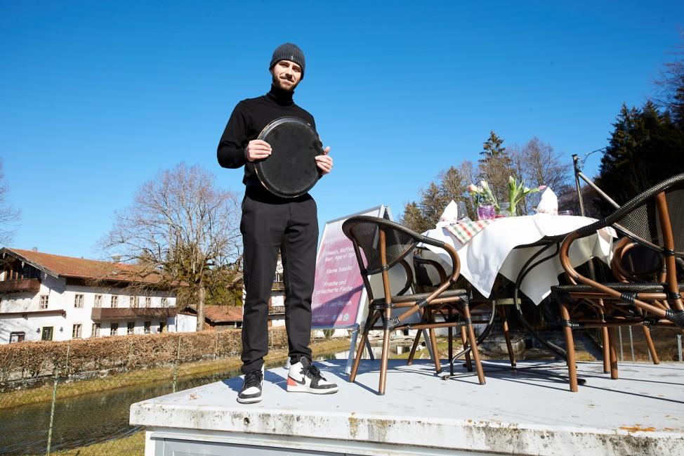 Öffnungsperspektive Aktion gedeckter Tisch Milos Drljeca Walgerfranz Bad Tölz