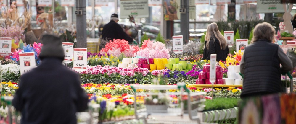 Coronavirus - Öffnung Gartenmarkt