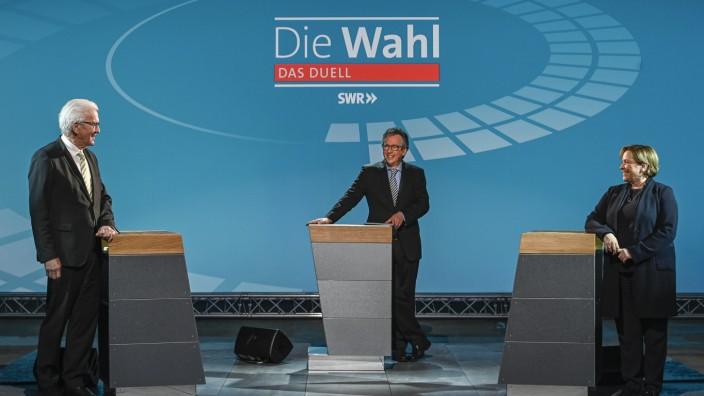 """Die Wahl im SWR âÄ"""" Das Duell"""