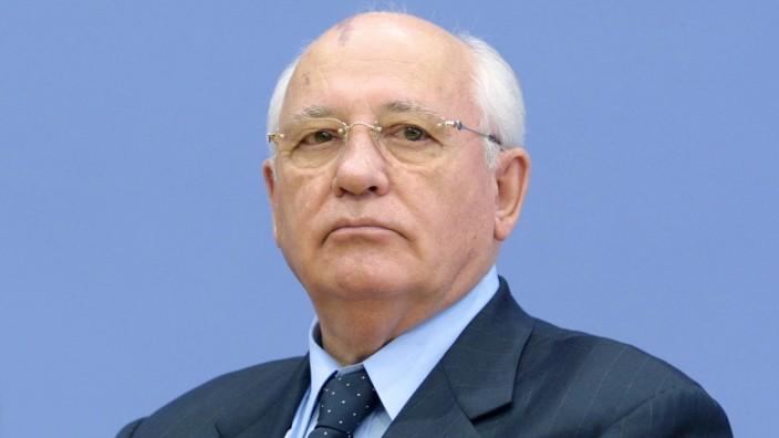 Michail Gorbatschow 2002 in Berlin
