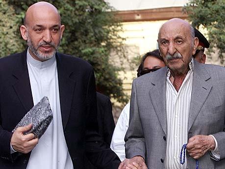 Hamid Karsai und Zahir Shah, Reuters