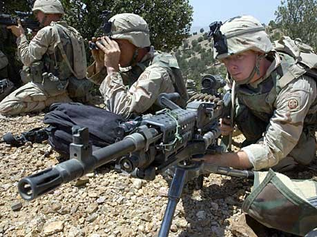 Soldaten in Afghanistan, AP