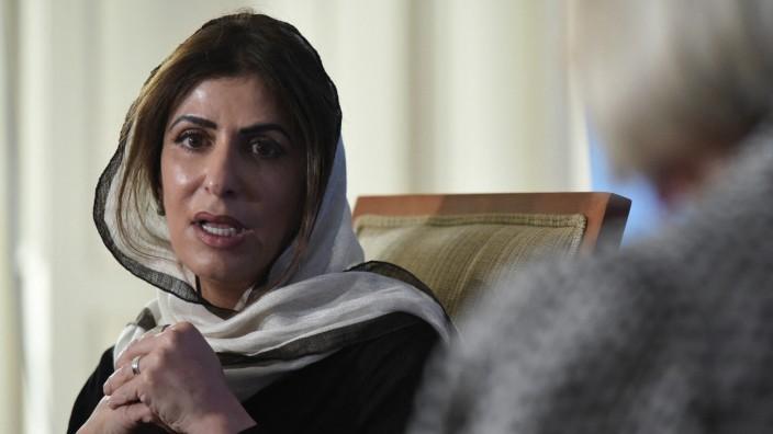 Saudi-Arabien: Prinzessin Basmah im Gespräch