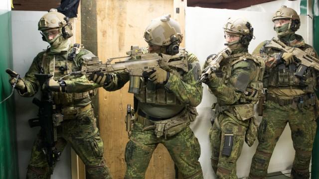 Kommando Spezialkräfte KSK in Calw