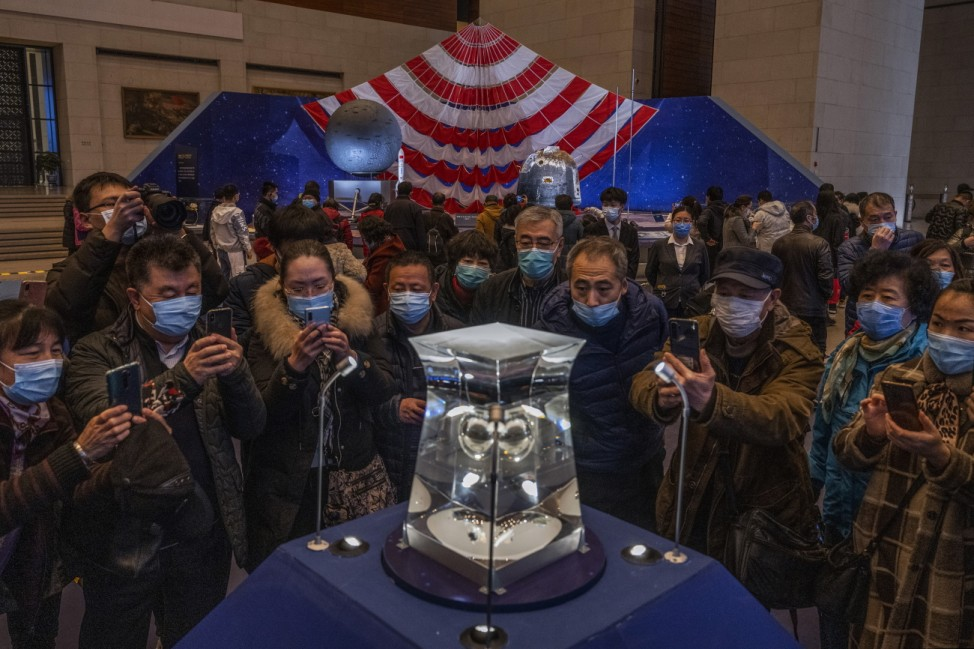 China Displays Lunar Samples From Moon Mission
