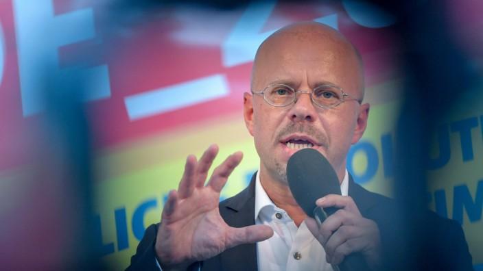 Abschlusswahlkampf der AfD in Brandenburg