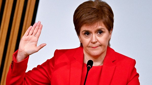 Nicola Sturgeon, Schottland