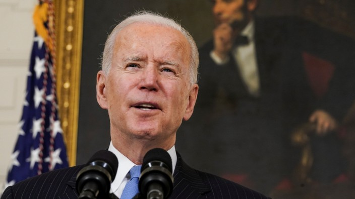 U.S. President Biden speaks about the administration's coronavirus response at the White House in Washington