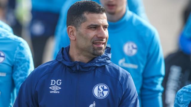 Training FC Schalke 04 mit neuem Trainer