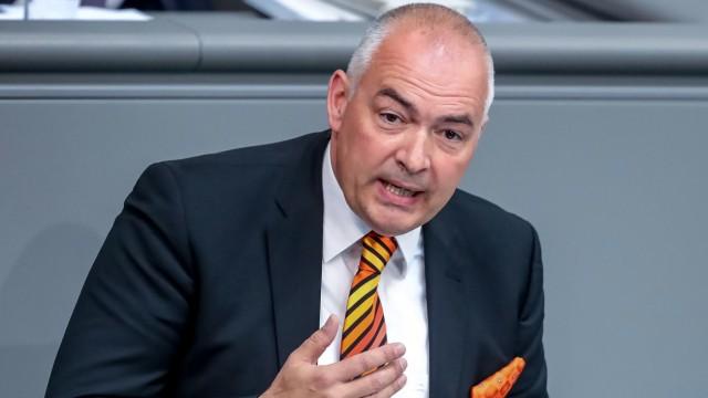Axel Fischer (CDU) im Bundestag (Archivbild von 2018).