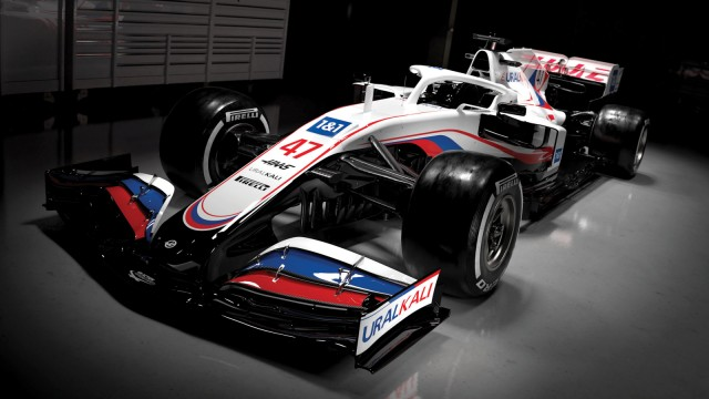 Uralkali Haas F1 Team - Präsentation VF-21