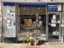 Berlin: Altar für einen Buchhändler