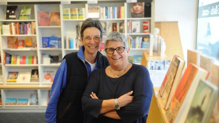 Buchhandlung 'Lillemor´s Frauenbuchladen' in München, 2016