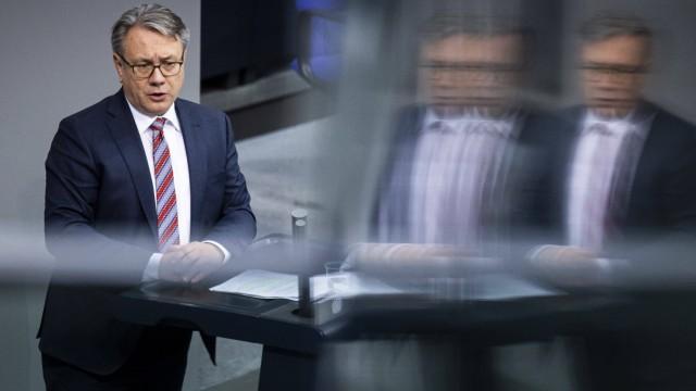 Georg Nuesslein, CDU/CSU, aufgenommen im Rahmen der Haushaltsdebatte zum Thema Umwelt und Naturschutz im Deutschen Bund