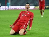FC Bayern in der Einzelkritik: Lewandowski gewinnt das Wettschießen