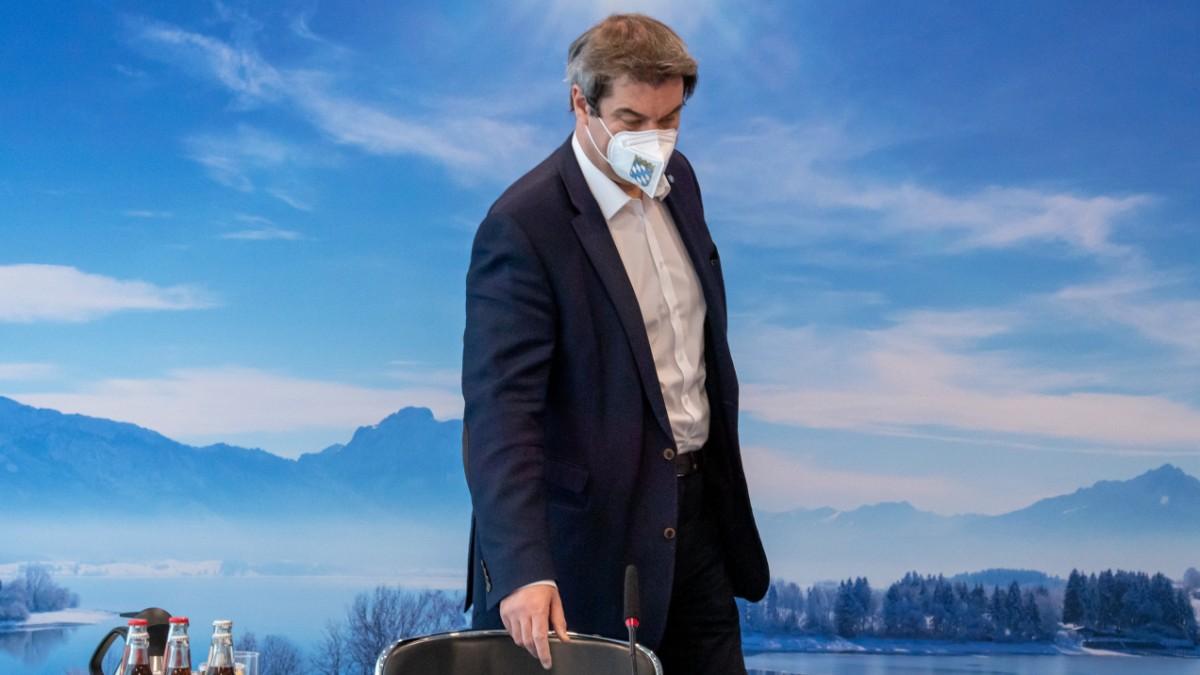 Corona in Bayern: Söder zu Oster-Urlaub oder Lockdown