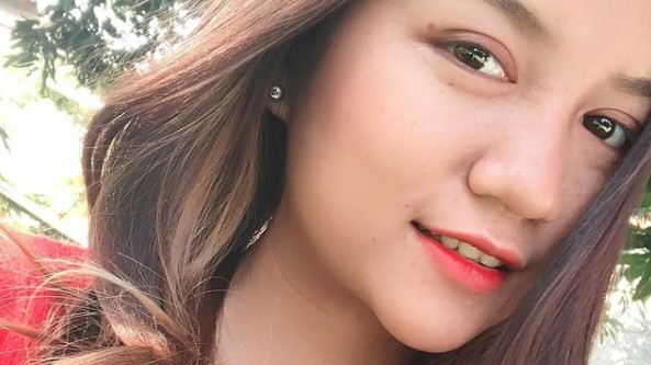 Angel, 19, also known as Kyal Sin appears on a social media picture