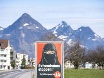 Schweiz: Gesicht muss sichtbar sein