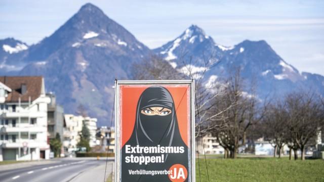 Abstimmung zum Verhüllungsverbot in der Schweiz