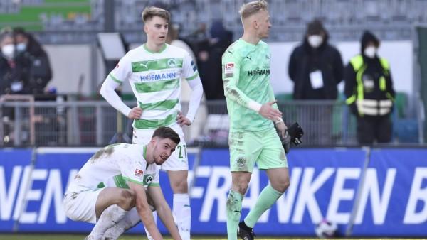 06.03.2021 - Fussball - Saison 2019 2020 - 2. Fussball - Bundesliga - 24. Spieltag: SpVgg Greuther Fürth ( Kleeblatt )