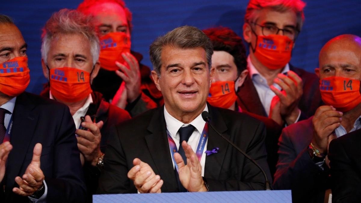 Präsidentschaftswahl beim FC Barcelona: Laporta siegt