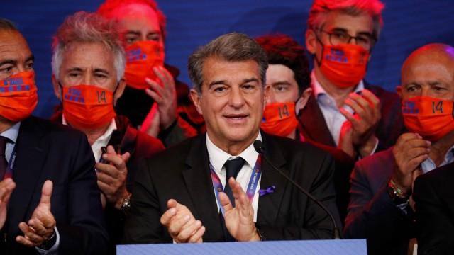 FC Barcelona elects Joan Laporta as new club president