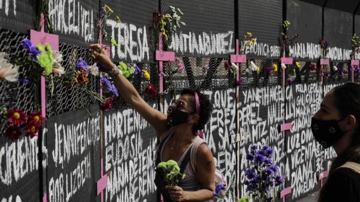 Vor dem Internationalen Frauentag - Mexiko