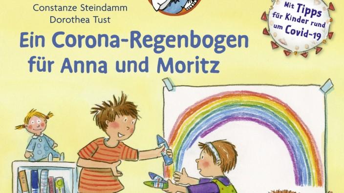 LESEMAUS 185: Ein Corona Regenbogen für Anna und Moritz