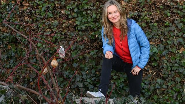 Ein Spaziergang mit Stefanie Stappenbeck