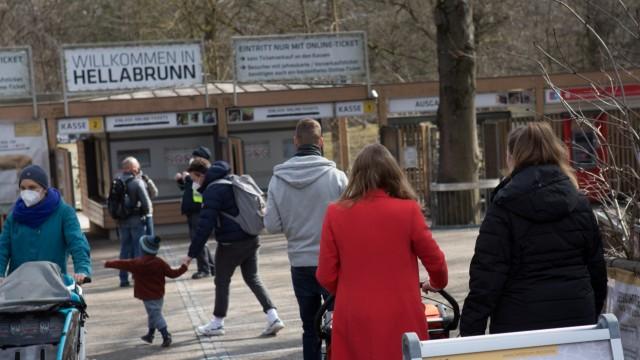Wiedereröffnung Tierpark Hellabrunn