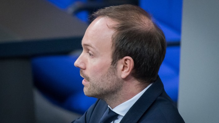 Nikolas Löbel (CDU) im Februar im Bundestag