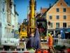 FREISING: Baustelle Altstadt - Anwohner von Baulärm genervt