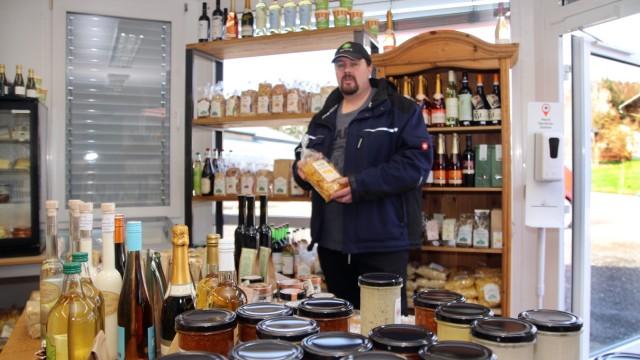 Klaus Heiß betreibt Hofladen in Monatshausen