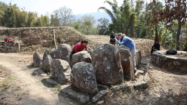 Der Forschungsaufenthalt und die Dokumentation der Monumente fand in enger Kooperation mit KollegInnen der Universität Nagaland statt.