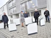 Gilching: Hönle AG spendez UV Entkeimungsgeräte ans Rotkreuzhaus