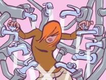 """SZ-Kolumne """"Mitten in …"""": Die Frau mit dem Schlüssel"""